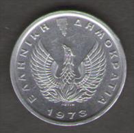 GRECIA 10 LEPTA 1973 - Grecia