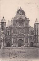 Cp , 76 , EU , Le Collège Et La Statue De Michel Anguier - Eu
