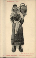 09 Bethmale Costume Coiffe Types Bethmalais Cruche - Saint Girons