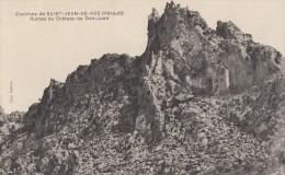 CPA - Le Château De Don Juan - Ruines - Environs De St Jean De Fos - Francia