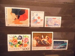 FRANCE - Année 1988 - N° 2554 à 2559 Neuf ** - Nuovi