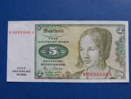 5,00 DM, 1980 Bankfrisch - [ 7] 1949-… : RFA - Rep. Fed. De Alemania