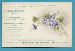 CPA Publicitaire Publicité L'AEROGRAPHE - Werbepostkarten