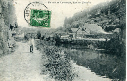 N°48679 -cpa Semur -un Coin De L'Armançon- - Semur