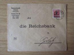 06.10.1923, FEIMARKEN-AUSGABE Nr. 312 Ab Auf BELEG Von KLEVE, SELTEN, NUR 9 TAGE MÖGLICH, Geprüft INFLA BERLIN - Alemania