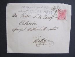 BRIEF Brzezany - Klattau 1893 /// D*19765 - Briefe U. Dokumente