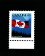 CANADA - 1990  40c  CANADIAN  FLAG  MINT NH - 1952-.... Regno Di Elizabeth II