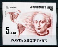 1992 - ALBANIA - Catg. Mi. Block 97 - NH - (BA/T23032016) - EUROPA € 75,00 - Niue