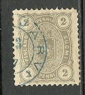 FINLAND FINNLAND 1882 Michel 12 B Y (perf 12 1/2) O - 1856-1917 Russian Government