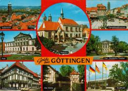 GRUSSE  AUS  GOTTINGEN    UNIVERSITATSSTADT     (VIAGGIATA) - Germania