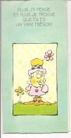 Carte Postale Double à Système Fantaisie Humour - Illustrateur - Tu Vaus Ton Pesant D'Or -  Recto-verso - A Systèmes