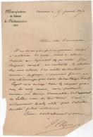 VP3576 - Lettre De La Manufacture De Tabacs De CHATEAUROUX - Dokumente