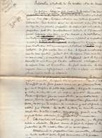 VP3577 - Copie D´un Brevet  Remis à Mr MESTRAL Ingénieur Conseil  à PARIS Sure La Nicotine - Dokumente