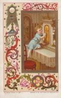 Un Modèle Pour Notre Foi.Image Pieuse Chromolithographiée.Texte Au Verso+envoi En Date De 1894 Anc.Maison Letaille. 4007 - Santini