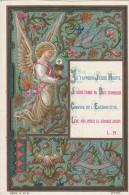 Je T'apporte Jésus Hostie.. .Image Pieuse Chromolithographiée. Série A - N° 31. Envoi Au Verso Daté De 1894. - Santini