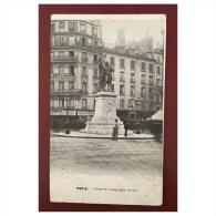 Paris  Chappe  Telegraphe Aerien  Statue - Statues