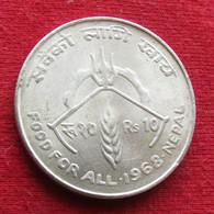 Nepal  10 Rupee 1968 FAO F.a.o. - Népal