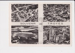 10 Souvenir De Troyes Multi Vue 4 Vues - France