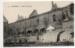 MEZIERES (08) - JARDIN DE L'HOPITAL - France