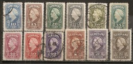Surinam 1945 La Reine Queen Obl - Surinam ... - 1975