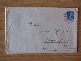 24.11.1927, BELEG Mit STEMPEL Von KREFELD - Cartas