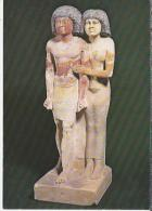 FR.- Paris. Musée Du Louvre. Le Chef Des Scribes Raherka Et Sa Femme Merséankh.. 2 Scans - Sculpturen