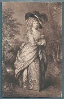 CPA  - DUCHESSE DE DEVONSHIRE - GAINSBOROUGH - Malerei & Gemälde