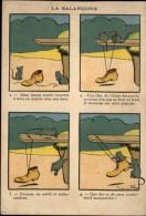 ILLUSTRATEURS - Carte Illustrée Par RABIER - La Balançoire - Rabier, B.