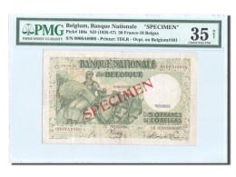 Belgique, 50 Francs-10 Belgas, SPECIMEN, KM:101, PMG Ch VF35 - [ 4] Belgian Occupation Of Germany