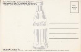 United States 1998 Santa / Coca Cola Postcard Unused (27679) - United States
