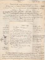 VP3587 - Tabac - Lettre + Note De Renseignements à L'intention De Mr GREEN De LIVERPOOL - Mr SCHOESING à PARIS - Documents