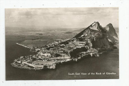G-I-E , Cp, GIBRALTAR , South East View Of The Rock Of Gibraltar , Vierge , Ed : The Rock Photographic Studio - Gibraltar