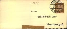 1942, Liebesgabenpaket-Empfangsbestätigung FÜRSTENBERG (ODER) - Deutschland