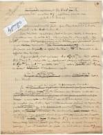 VP3589 - Tabac - Note De Renseignements à L´intention De Mr GREEN De LIVERPOOL - Mr SCHOESING à PARIS - Dokumente
