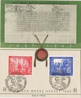 17264. Tarjeta LEIPZIG 1947 (Alemania Zona Anglo American)  Leipziger Messe - Zona Anglo-Américan