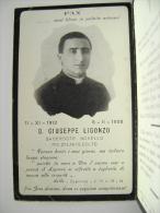 1913 - 1938 SACERDOTE  D. GIUSEPPE LIGONZO   LUTTINO  PAGELLINA    FOTOTIPIA LOPEZ  & RUGGIERI   BARI      IMAGE PIEUSES - Religion & Esotericism