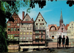 LUNEBURG   FACHWERKHAUSER  AN DER LIMENAU        (NUOVA) - Germania