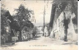 CPA.    LE VILLARD  SUR  BOEGE....  ANIMATION LE CENTRE.. TBE..1902...SCAN - France