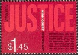 2003. AUSTRALIAN DECIMAL. Politics & Government. (Law). $1.45c. Centenary Of The High Court. FU. - 2000-09 Elizabeth II