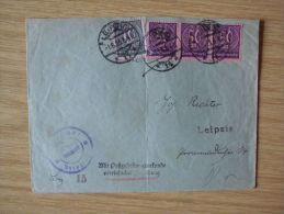 01.06.1923, DIENST-BELEG Des POSTAMTS LEIPZIG Mit STEMPEL Von LEIPZIG 14, PZU, VEREINFACHTE ZUSTELLUNG - Cartas