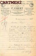 ALBERTVILLE FACTURE HORLOGERIE BIJOUTERIE ORFEVRERIE CYCLES AUTOMOBILES U.LAMY 72 RUE DE LA REPUBLIQUE MACHINE A COUDRE - 1900 – 1949