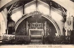 MEKNES - L'Intérieur De L'Eglise Des Oliviers - Meknès