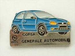PIN´S OPEL CORSA - GENERALE AUTOMOBILE - Opel