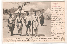 Postal De Guerreros De Abysinia. - Etiopía