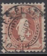"""SUISSE 1905-06 1 TP Helvetia """"debout"""" N° 95 Y&T Oblitéré - Oblitérés"""