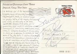 SPE60,--- POSTAL HISTORY, TRINIDAD & TOBAGO---NAPOLI,  ITALIA, - Trindad & Tobago (1962-...)