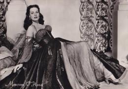 SEXY / CINÉMA - ACTRICE : MAUREEN O'HARA - CARTE VRAIE PHOTO / REAL PHOTO - ROTALFOTO / MILANO ~ 1960 (t-943) - Actors