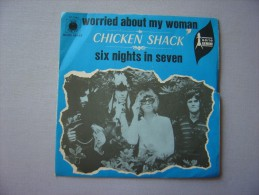 Vinyle---CHICKEN SHACK : Worried About My Woman  (45t) - Blues