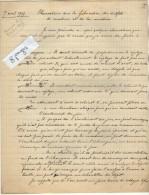 VP3594 - Tabac -  Note De Renseignements à L´intention De Mr GREEN De LIVERPOOL - Mr SCHOESING à PARIS - Documents