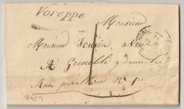 37 VOREPPE  Isère Sur LAC. 1841. - 1801-1848: Précurseurs XIX
